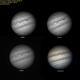 Júpiter em 4 comprimentos de onda,                                Astroavani - Ava...