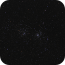 Double cluster NGC869 and NGC884,                                Serge