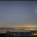 C/2020 F3 (NEOWISE) from Gran Canaria, looking towards Tenerife and La Gomera.,                                Massimiliano Vesc...