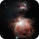 First shot at Orion M42,                                WAskywatcher