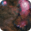 The Lagoon and Trifid Nebulae - A Joint Project with Maicon Germiniani,                                Gabriel R. Santos...