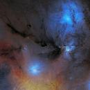 Rho Ophiuchi cloud complex,                                Oliver Czernetz