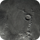 Moon. Eratosthenes crater and Apenninus Mons.,                                Juan Pablo (Obser...