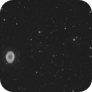 M57 outer shell in 20 min,                                apricot