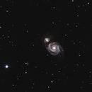 Messier 51,                                AstroBrome