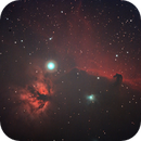Flame Nebula- Horse Head Nebula,                                agostinognasso