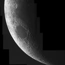 Mosaïque du croissant de lune de jour,                                Thomas Collin