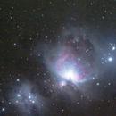 M42 (Orion) Nebula (Preliminary),                                Nikola Nikolov