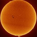 Sun full disc 26.06.2017,                                Antanas Paulauskas