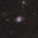 Messier 27 with DSLR,                                Jenafan