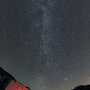 St. Barthélemy 2012 Via Lattea + Pleiadi + Giove + M31 ,                                AlbertNewland