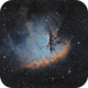 NGC 281 - Pacman Nebula,                                Mikko Viljamaa