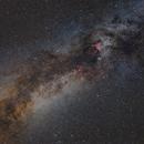 Milky Way in Cignus,                                lizarranet