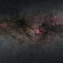 Milky Way Cygnus Region,                                Shane