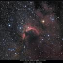 Sh2-155 The Cave Nebula in Cepheus   9/13/2012,                                rigel123