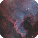 NGC 7000 HOO,                                LAMAGAT Frederic