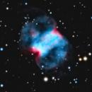 M76 Little Dumbbell Nebula - RGB - NGC 650,                                Jerry Macon
