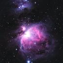M 42, Orion Nebula, Running Man,                                astrodan