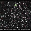 M46 & NGC 2438, PIC Mount Control 1st Light, UHC-S, 17 Feb 2014,                                David Dearden