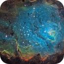 M8 The Lagoon Nebula in SHO,                                Kevin Parker