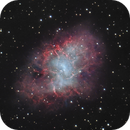 M1, The Crab Nebula,                                Exaxe