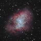M1, The Crab Nebula,                                  Exaxe