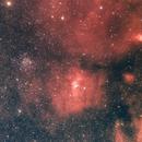 The Bubble Nebula, M52, and more…,                                Wayne Jaeschke