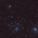Comet C/2017 T2 (PANSTARRS) with Perseus Double Cluster,                                Maroun Habib
