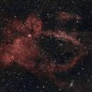 Sh2-157 Lobster Claw Nebula - HOO,                                Sean van Drogen