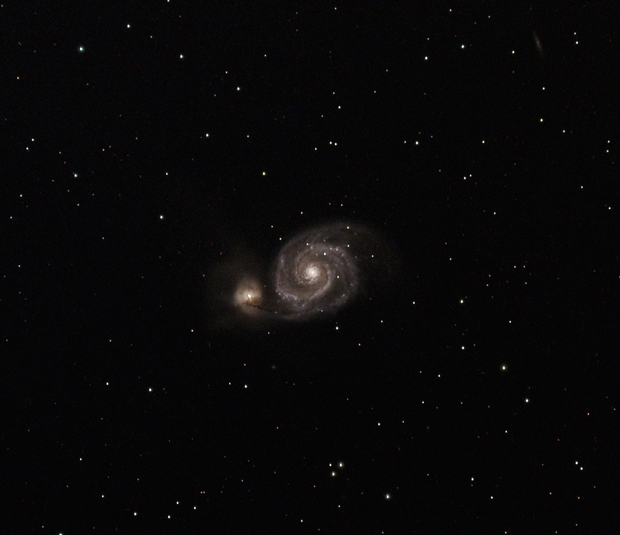 Whirlpool Galaxy,                                Callum Wingrove
