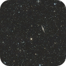 NGC 891 The Silver Sliver Galaxy,                                star-watcher.ch