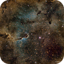 IC 1396, The Elephant Trunk Nebula in HST,                                Scott