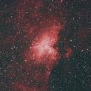 M16 Nébuleuse de l'Aigle,                                Bernard Tournois