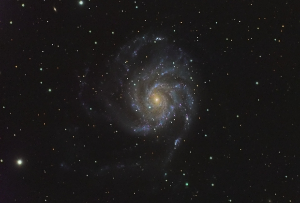 Messier 101 - Pinwheel Galaxy,                                Angelo F. Gambino