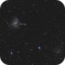 Fireworks Galaxy, NGC6939 and the SN2017eaw supernova,                                Emil Andronic
