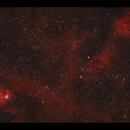 NGC1491 and neighbouring nebulosity in Perseus (HaOiii),                                Göran Nilsson