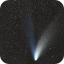 Comet Hale Bopp (C/1995 O1) and double cluster in Perseus,                                Martin Mutti