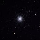 M13 Great Globular Cluster in Hercules,                                Vikas Sahota
