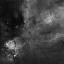 IC1795 and Melotte 15,                                Bart Delsaert