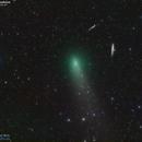 Comet 45P sails in the dark,                                José J. Chambó