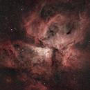 NGC 3372, Carina Nebula from Bortle 9+,                                Simingx