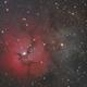 M20 Trifid Nebula (RGB) - 30 May 2020,                                Geof Lewis