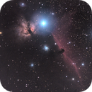 NGC2024, NGC2023 and IC0434 Flame and Horsehead Nebulae,                                Ken Dearman