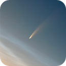 Comet C2020/F3 NEOWISE over NLC.,                                Arno Rottal