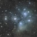 M45 and SkyWatcher AZ-GTi mount :),                                StarDiver
