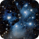 Messier 45, the Pleiades,                                Kevin Wigell