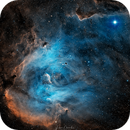 IC2944 Running Chicken Nebula,                                vikas chander