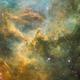 On the outskirts of the Rosette Nebula,                                Jari Saukkonen