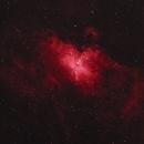 M16 False Color H-alpha,                                seti_v2
