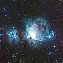 M42 and Running man nebula,                                Mike Lloyd